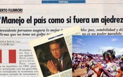 1993  Entrevista Alberto Fujimori