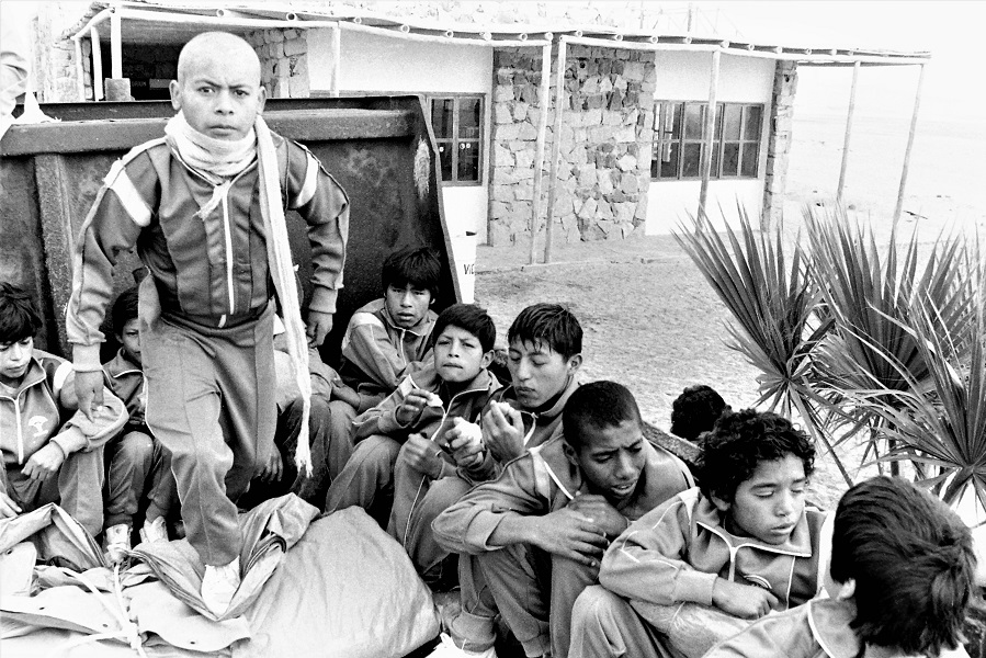1990 Petisos en Paracas